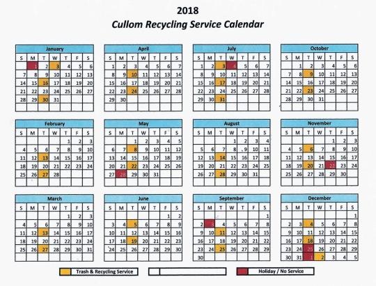 2018 Republic Calendar (2)
