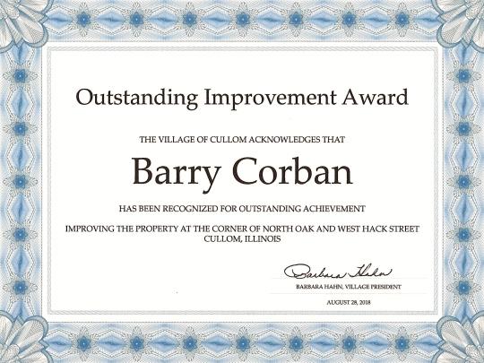Outstanding Award