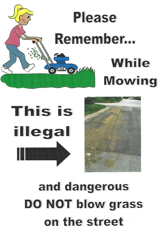 Mowing Poster